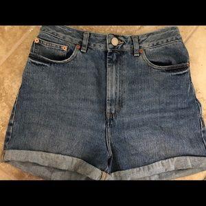 ASOS Denim High-Waisted shorts